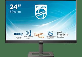PHILIPS 242E1GAEZ 24 Zoll Full-HD Gaming Monitor (1 ms Reaktionszeit, 144 hz)