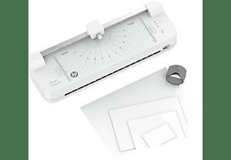 HP Laminiergerät OneLam Combo A3 mit Starter-Set 15-teilig, DIN A3, 75-125 Micron, Weiß