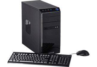 CAPTIVA B5A 21V1, Desktop PC, 16 GB RAM, 480 GB SSD, 1 TB HDD, Radeon Vega 11