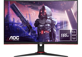 AOC C27G2AE Curved 27 Zoll Full-HD Gaming Monitor (1 ms Reaktionszeit, 165 Hz)