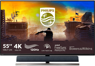 PHILIPS 558M1RY 55 Zoll UHD 4K LCD Monitor (4 ms Reaktionszeit, 120 Hz)
