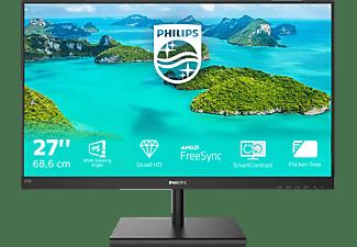 PHILIPS 275E1S/00 27 Zoll QHD Monitor (4 ms Reaktionszeit, 75 Hz)