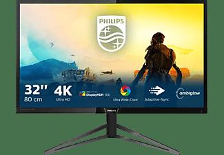PHILIPS 326M6VJRMB 31,5 Zoll HDR 4K Monitor (4 ms Reaktionszeit, 60 Hz)