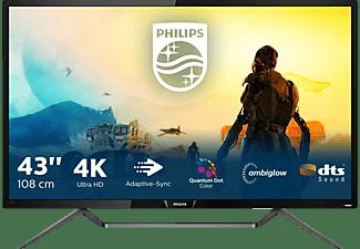 PHILIPS 436M6VBPAB/00 42,51 Zoll UHD 4K Monitor (4 ms Reaktionszeit, 60 Hz)