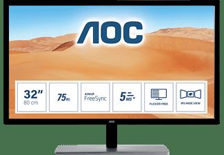 AOC Q3279VWF 31,5 Zoll QHD Gaming Monitor (5 ms Reaktionszeit, 75 Hz)
