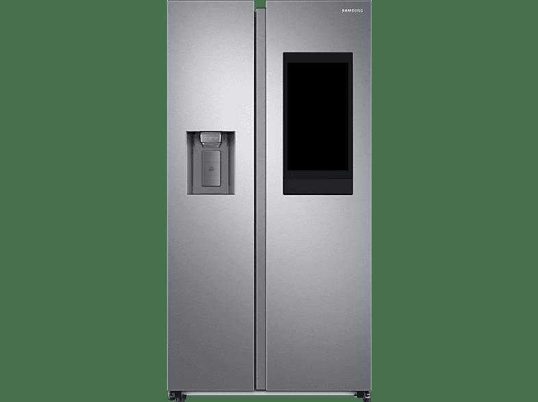 SAMSUNG RS6HA8891SL EG Side-by-Side E, 1780 mm hoch, Edelstahl Look Silber