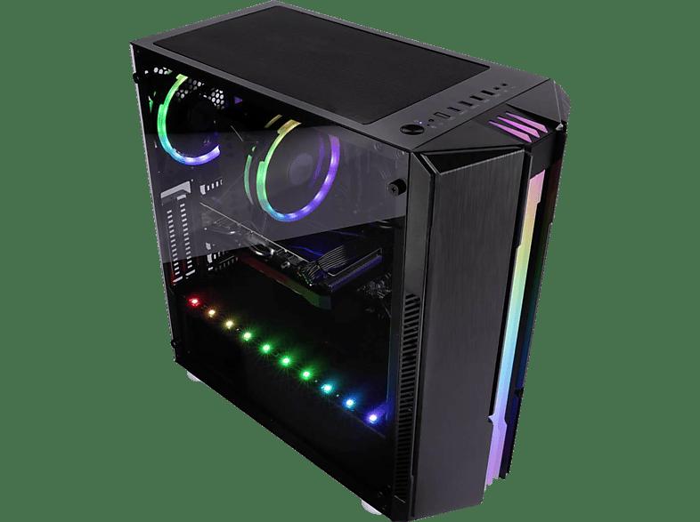 CAPTIVA G19IG 20V4, Gaming PC, 32 GB RAM, 500 SSD, 2 TB HDD, RTX 3070, 8