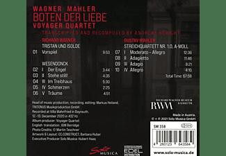 Voyager Quartet - Voyagar Quartet - Boten Der Liebe  - (CD)