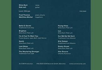 Rob Luft, Fred Thomas, Matthieu Michel, Elina Duni - LOST SHIPS  - (CD)
