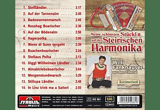 Willi Fankhauser Aus Dem Zillertal - Meine Schönsten Stückl'n Auf Der Steirischen Harmonika  - (CD)