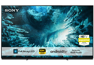 SONY KD-75ZH8 Fernseher 75 Zoll 8K UHD Smart Android TV