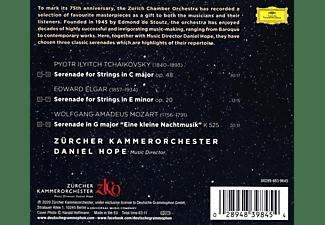 Daniel Hope, Zürcher Kammerorchester - Tchaikovsky / Elgar / Mozart: Serenades  - (CD)