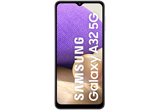 "Móvil - Samsung Galaxy A32 5G, Violeta, 128 GB, 4 GB RAM, 6.5"" HD+, Quad Cam, MTK D720, 5000 mAh, Android 11"