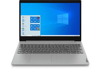 LENOVO IdeaPad 3, Notebook mit 15,6 Zoll Display, 8 GB RAM, 512 GB SSD, AMD Radeon RX Vega 10, Platinsilber