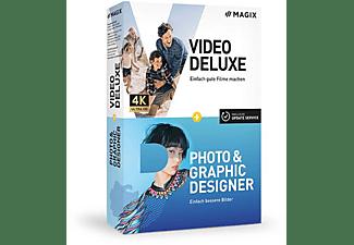 MAGIX Video deluxe + Photo & Graphic Designer - [PC]