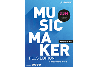 MAGIX Music Maker Plus Edition 2021 - [PC]