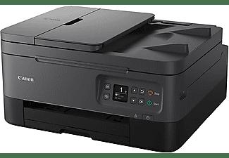 Impresora multifunción - Canon TS7450, Inyección de tinta, WiFi, 13 ppm, Copia y Escanea, B/N & Color, Negro
