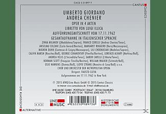 Chor Und Orchester Der Metropolitan Opera - Andrea Chenier [CD]