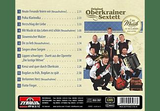 Original Oberkrainer Sextett - Mit Musik ist das Leben erst schön  - (CD)