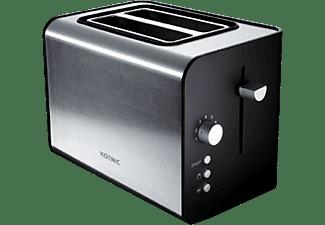 KOENIC 2-Schlitz-Toaster KTO 120 Schwarz/ Edelstahl