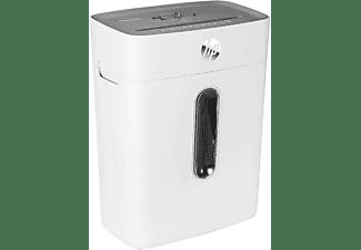 HP Aktenvernichter OneShred 8CC, 15 Liter, Partikelschnitt 5x 18mm, Weiß
