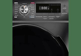Secadora - Infiniton SD-DG85C, Condensación, 8 kg, 60 cm, 16 programas, Anti-arrugas, LED, B, Inox