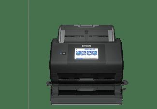 Escáner - Epson WorkForce ES-580W, Inalámbrica, 600 x 600 DPI, 35 ppm, 30 bits, ReadyScan LED, Negro