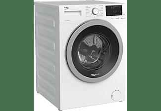 Lavadora carga frontal - Beko WQY9736XSWBTR, 9 kg, 1400 rpm, SteamCure™, 15 programas, Blanco