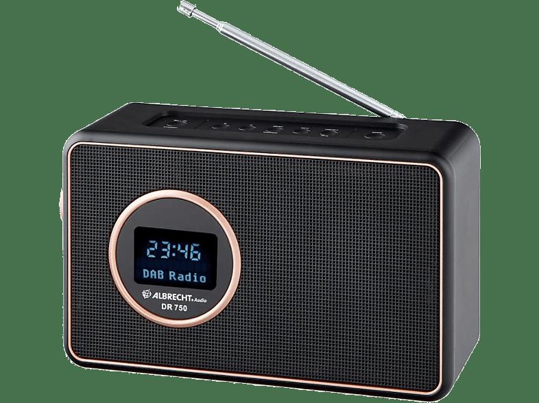 ALBRECHT Draagbare DAB+ Radio FM Bluetooth DR750 (ALB27750)