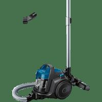 BOSCH BGC05A220A Staubsauger, maximale Leistung: 700 Watt, Steingrau/Blau)