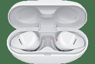 SONY WF-SP800N, Earbuds, Ladeetui, In-ear Kopfhörer Bluetooth Weiß