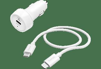 HAMA Lightning KFZ-Ladegerät Apple, Weiß