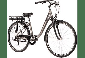 SAXXX CITY LIGHT SPORT 2020 Citybike (28 Zoll, Rahmenhöhe: 28 Zoll, Erwachsene-Rad, 374.4 Wh, Silber Matt)