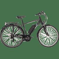 SAXXX TOURING 2020 Trekkingrad (28 Zoll, Rahmenhöhe: 28 Zoll, Herren-Rad, 374.4 Wh, Schwarz Matt)