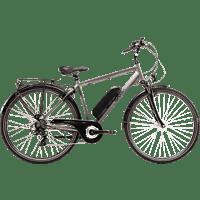 SAXXX TOURING 2020 Trekkingrad (28 Zoll, Rahmenhöhe: 28 Zoll, Herren-Rad, 374.4 Wh, Silber Matt)