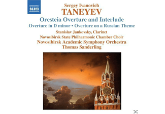Sergei Ivanovich Taneyev, Sanderling/Jankovsky/Novosibirsk SO - Orchesterwerke-Ouvertüren  - (CD)