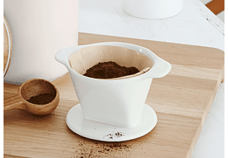 TCHIBO 392498 101 Handkaffeefilter Weiß