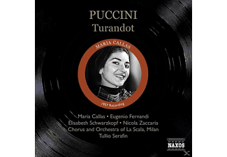 Maria Callas, Serafin/Callas/Fernandi/Schwarzkopf - Turandot  - (CD)