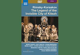 VARIOUS, Vedernikov/Kazakov/Panfilov - Legende Von Der Unsichtbaren Stadt Kitezh  - (DVD)