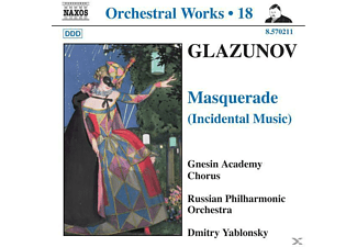Glazunov, Yablonsky/Russian PO - Masquerade (Schauspielmusik)  - (CD)