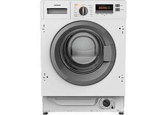 Lavadora secadora - Infiniton WSD-B684, 8 kg/6 kg, 800 rpm, Inverter, Easy Play, A+, Plata