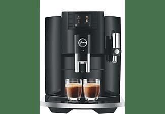 Cafetera superautomática - Jura E8 Piano Black, 1450 W, 1.9l, 15 bar, 2 Tazas, Capacidad café 280g, Negro