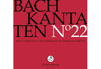 Chor & Orchester der J. S. Bach-Stiftung - Kantaten No°22  - (CD)