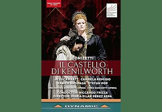 Xabier Anduaga, Stefan Pop, Orchestra Donizetti Opera, Coro Donizetti Opera, Jessica Pratt, Carmela Remigio - Il Castello di Kenilworth  - (Blu-ray)