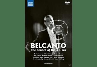 Caruso/Slezak/Tauber/Gigli/Ros - Belcanto-The Tenors of the 78 Era  - (DVD + CD)