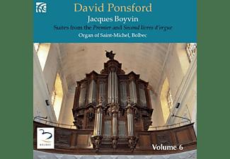 David Ponsford - French Organ Music Vol.6  - (CD)