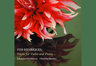 Christina Bjorkoe, Hansen Johannes Soe - Werke für Violine und Klavier  - (CD)