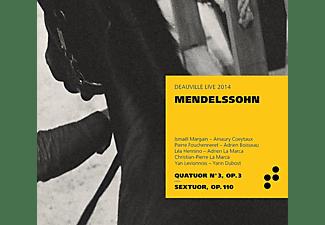 Ismael Margain, Lea Hennino, Yan Levionnois, Pierre Fouchenneret, Christian-pierre La Marca, Felix Mendelssohn Bartholdy - Klavierquartett 3/Klaviersextett op.110  - (CD)