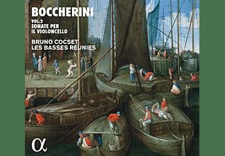 Bruno Cocset, Les Basses Reunies - Boccherini Vol. 2 Sonate per il violoncello  - (CD)