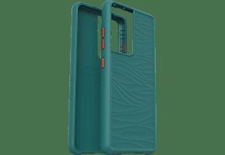 LIFEPROOF Wake, Backcover, Samsung, Galaxy S21 Ultra, Blaugrün